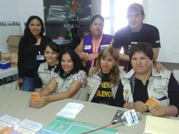Funcionarios del SLIM Yacuiba