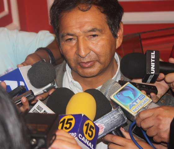 Lino Condori Aramayo - Gobernador del Departamento de Tarija (FOTO INTERNET)