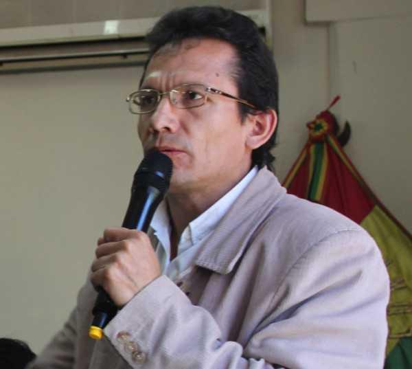 Lic. José Luis García (Asambleísta Regional del Gran Chaco)