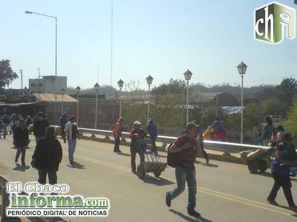 Puente Internacional que une San José de Pocitos (Bolivia) con Salvador Mazza (Argentina)