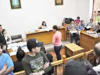 Gabriela Torres Araoz, durante la audiencia de medidas cautelares (FOTO EL PAIS ONLINE)
