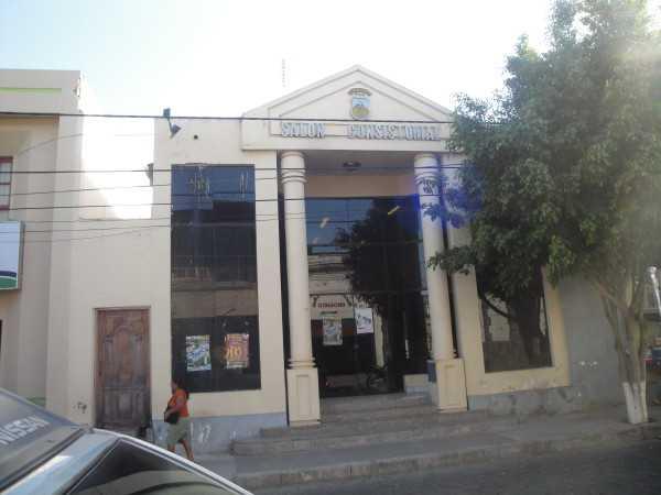 Salón Consistorial del Concejo Municipal de Yacuiba. (Foto: Archivo elchacoinforma)