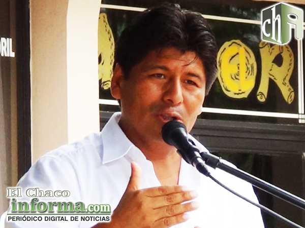 Marcial Rengifo Zeballos - Ejecutivo Seccional de Desarrollo de Yacuiba (FOTO: ARCHIVO)