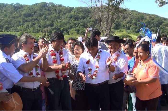 inauguracion itavicua