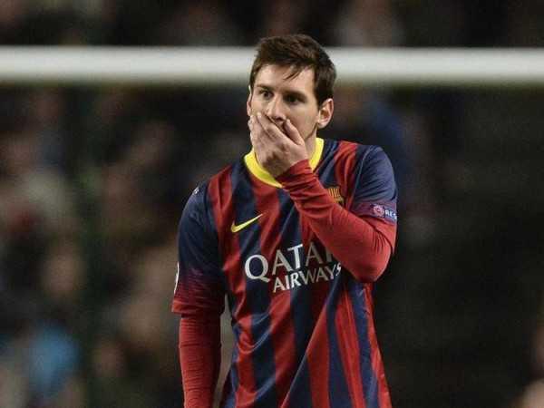 Reaparecieron los rumores sobre la salida de Messi del Barcelona. (EFE)