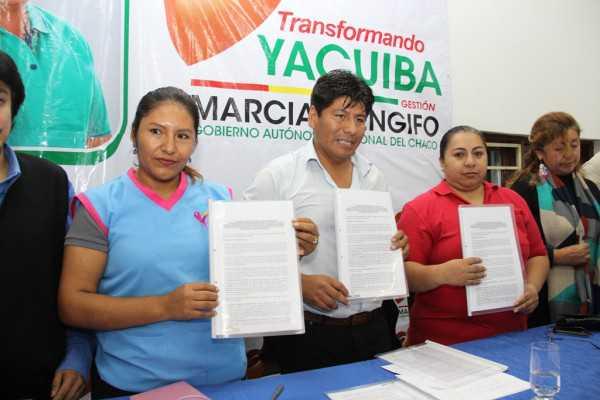 Firma del acuerdo para diagnóstico y tratamiento de cáncer de mama.