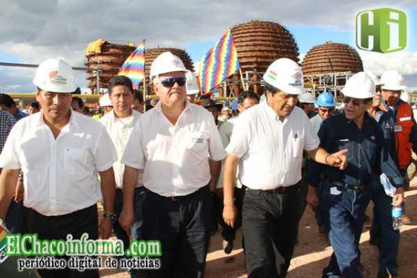Marcial Rengifo propondrá que el Gran Chaco sea socio de la planta petroquímica.
