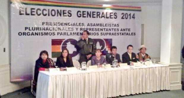 El Tribunal Supremo Electoral (TSE) aprobó el nuevo mapa de circunscripciones a nivel nacional. (FOTO: EL PAIS)