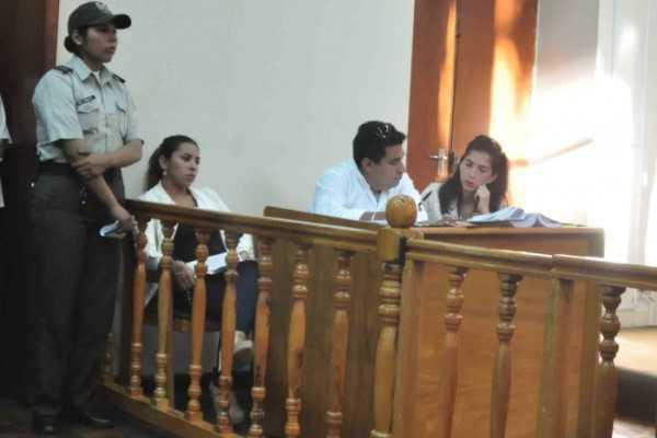 Audiencia de apelación a la detención domiciliaria en contra de Gabriela Torres. (FOTO: EL PAÍS)