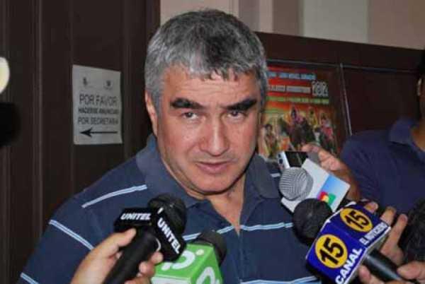 Roberto Ruiz, secretario ejecutivo de la Gobernación de Tarija. (FOTO: EL PAÍS)