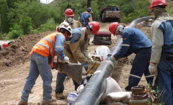 Desde el sábado a las cinco de la tarde, Tarija ya tiene disponible 64 Millones de Pies Cúbicos (MPC) de gas por día. (FOTO: EL PAÍS)