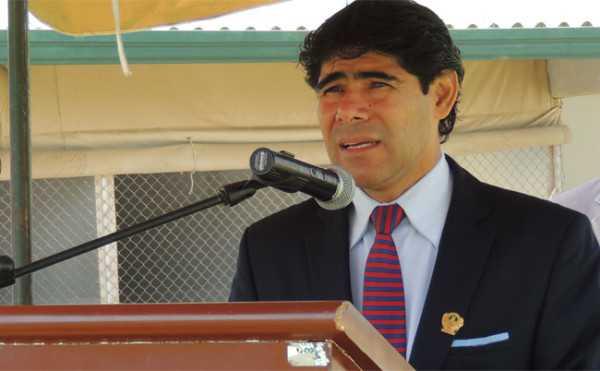 Jorge Perez asumió como nuevo Ministro de Gobierno en reemplazdo de Carlos Romero.
