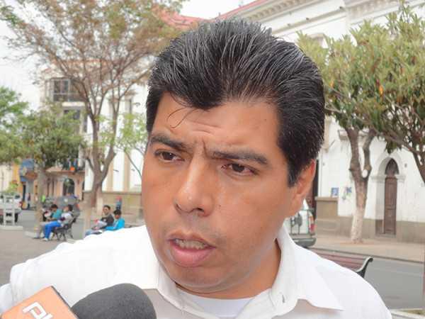 Wilman Cardozo, lidera el bloque de oposición en Yacuiba.