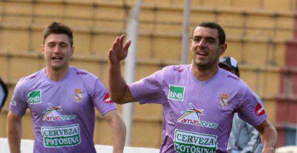 Real Potosí marcha cuarto en la tabla de la Liga. Una deuda al plantel originó el paro. (FOTO: EL DEBER)