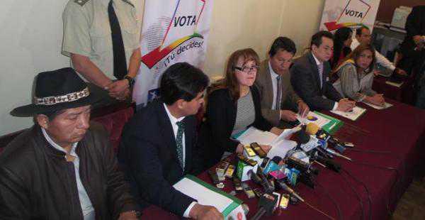 Los vocales electorales informaron que el 26 de octubre se repetirá el sufragio en El Torno y La Guardia. (FOTO: EL DEBER)