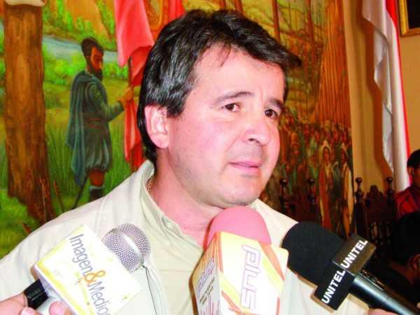 Carlos Eduardo Brú Cavero, Alcalde municipal de Yacuiba. (FOTO: EL PAÍS EN)