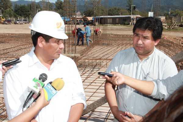 La obra es financiada por la Subgobernación, se trata de una infraestructura para más de 2.000 estudiantes. (FOTO: INTERNET)