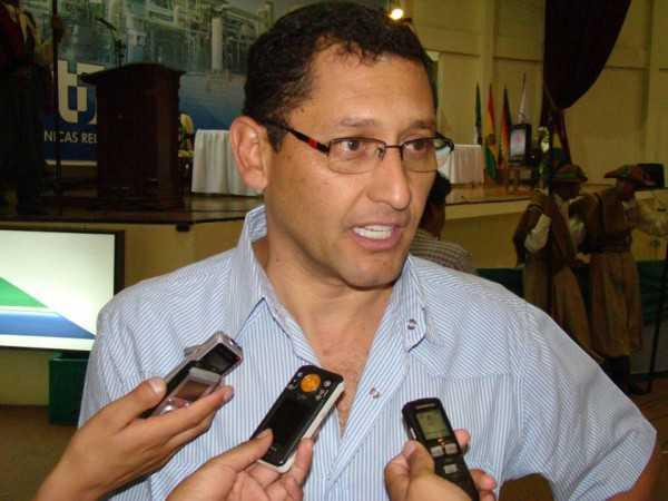 Oscar Montes Barzón, Alcalde de la ciudad de Tarija. (FOTO: INTERNET)