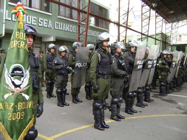 El Ministerio de Gobierno dispuso el despliegue de 31.200 efectivos policiales para el control de la jornada electoral.