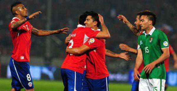 La Roja derrotó por 3-1 a Bolivia en el último compromiso jugado entre ambos en suelo chileno. (FOTO: EL DEBER)