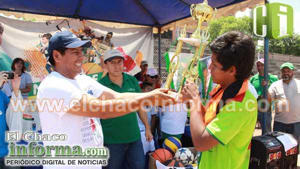 Copa Transierra Gobernación Yacuiba, Categoría Sub 15.