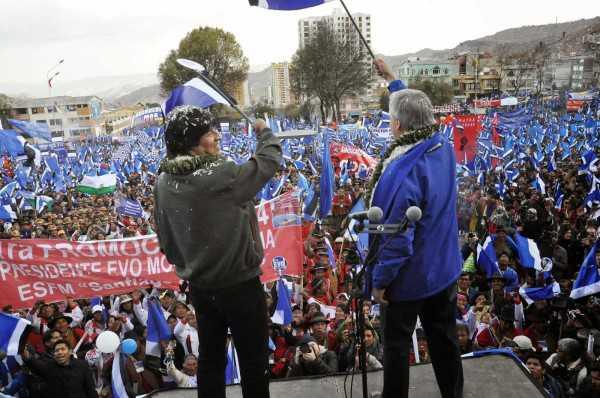 Morales ganó en ocho de los nueve departamentos, con excepción de Beni, y se asegura su tercer mandato presidencial (2015-2020).