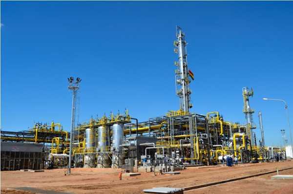 Planta Separadora de líquidos de Rio Grande.