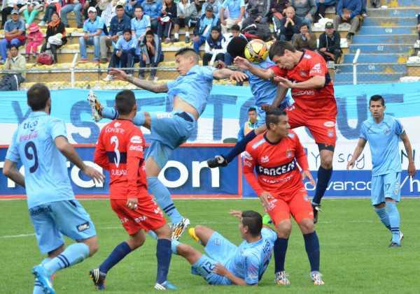 La academia celeste de La Paz venció al conjunto de Universitario de Sucre.