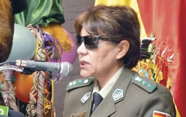 Crnl Rosa Lema. Directora nacional de la Fuerza Especial de Lucha contra la Violencia.