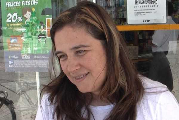 Gabriela Martinich, diputada provincial por Tartagal, Salta, Argentina.