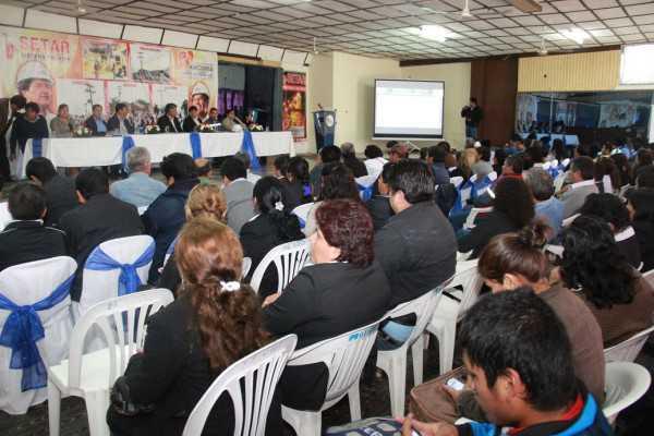 Setar Yacuiba, brindó informe sobre las actividades realizadas entre el 2011 y 2014.