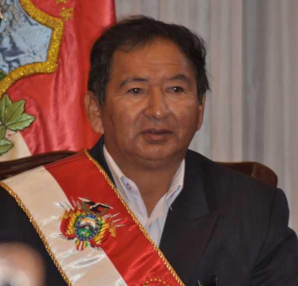 Lino Condori Aramayo, Gobernador de Tarija.