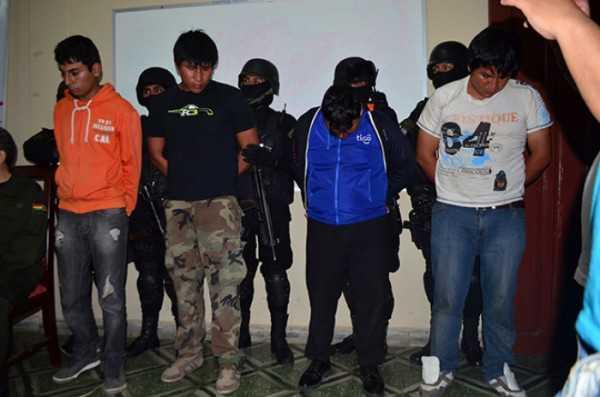 El grupo de antisociales sería responsable del secuestro de un ciudadano.