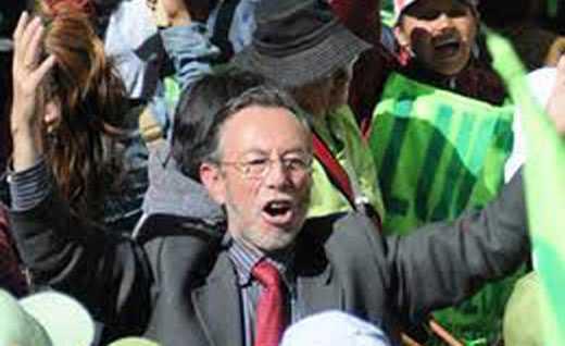 Juan del Granado, líder del MSM, partido que perdió la personería jurídica.