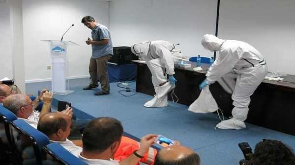 Funcionarios de salud de Bolivia fueron capacitados en Cuba sobre el virus del Ébola.