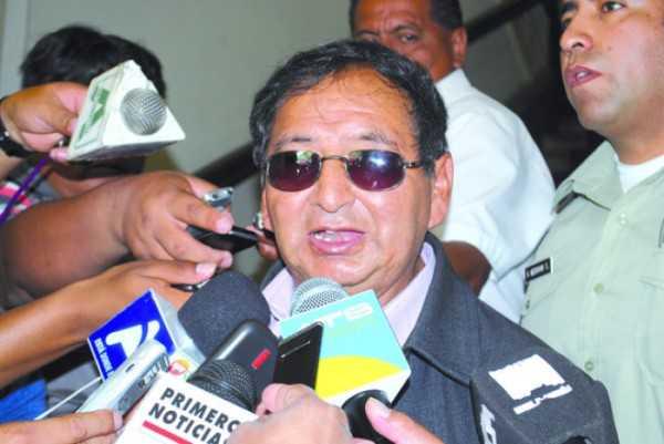 Lino Condori Aramayo, Gobernador del Departamento de Tarija. (Foto: El País EN)