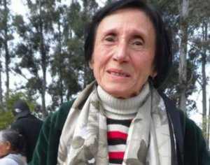 Elba Kutny, fue maestra de primaria  del presidente Evo Morales.