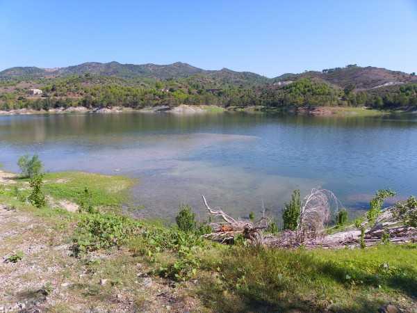 No se pudo solucionar el problema de contaminación de la presa. (Foto ilustrativa)