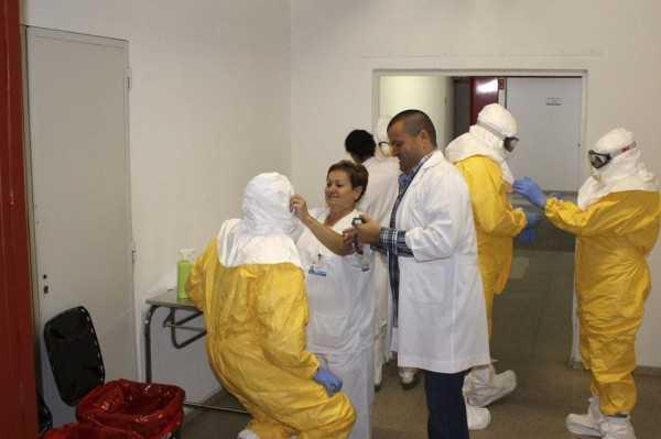 Las autoridades en salud, comienzan a tomar medidas preventivas ante la amenaza del ébola.