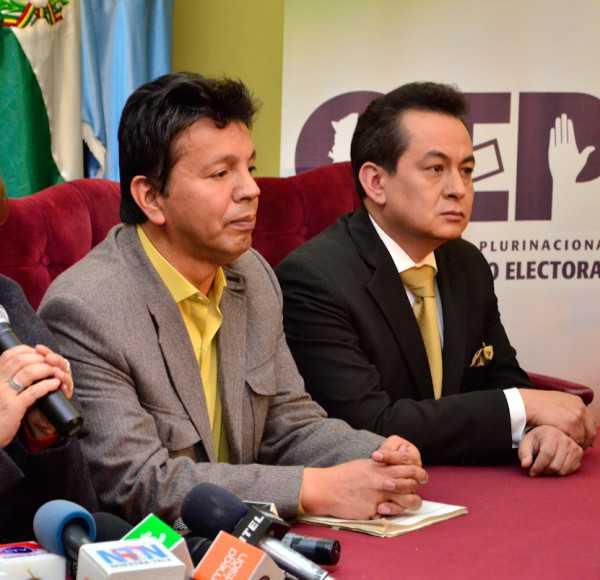 Ramiro Paredes, vocal del Tribunal Supremo Electoral (TSE).