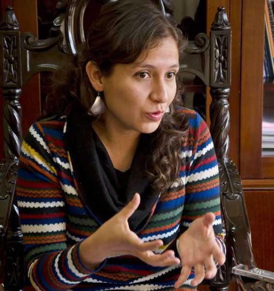 Ariana Campero, Viceministra de Salud.