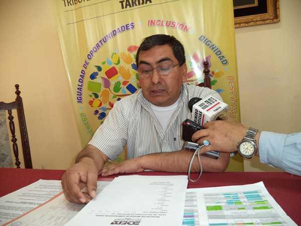 Dr. Nolberto Gallardo Suruguay, presidente del Tribunal Electoral Departamental.