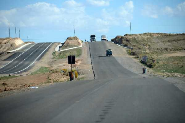 Doble vía La Paz - Oruro.