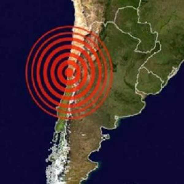 El epicentro fue localizado a 115 kilómetros al este de Socaire, en la localidad El Aguilar, en Jujuy-Argentina.