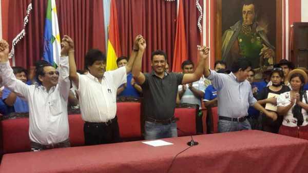 Pablo Canedo Daroca, es el reemplazante de Carlos Cabrera, como candidato a Gobernador por el Departamento de Tarija.