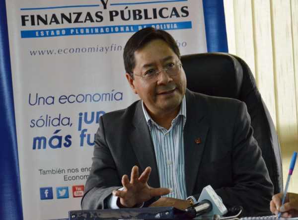 Luis Arce, Ministro de economía.