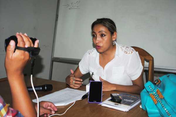 Valeria Zamora, directora de vigilancia y control de servicios de salud SAFCI.