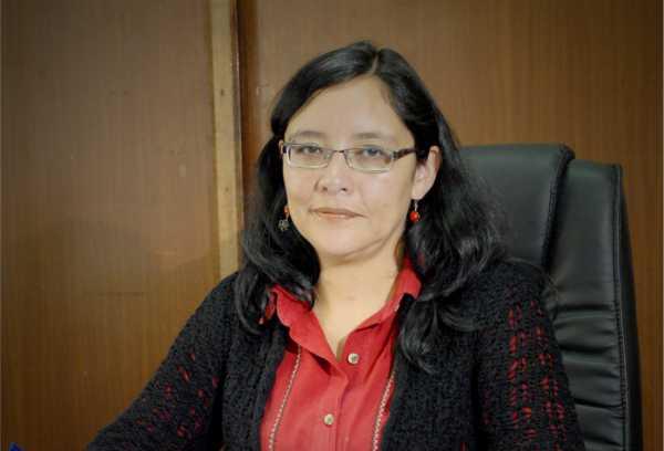 Claudia Espinoza, viceministra de Políticas Comunicacionales.