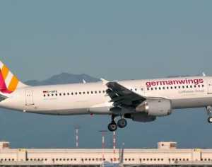 El avión de Germanwings, con 148 personas a bordo, se estrelló en los Alpes. (Foto: Flightradar24)