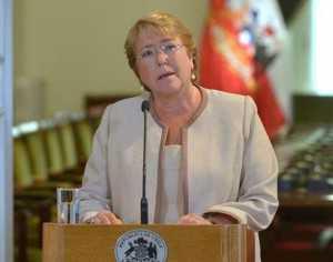 El escándalo ha dañado la imagen pública de Bachelet.